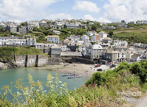 Port Isaac  or Port Wenn home to TV's Doc Martin. by Paul Felix