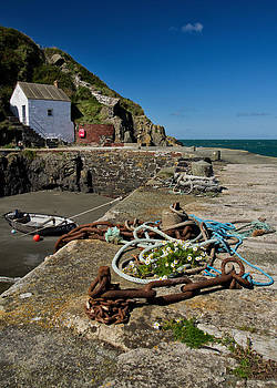 Porthgain in South Wales by Pete Hemington