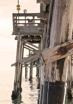 Portion of the Pier Balboa by Chris Brannen