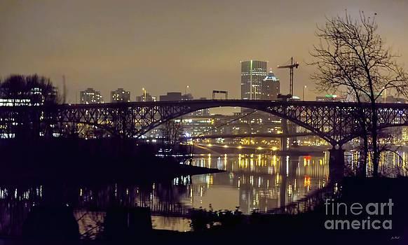 Jon Burch Photography - Portland At Night