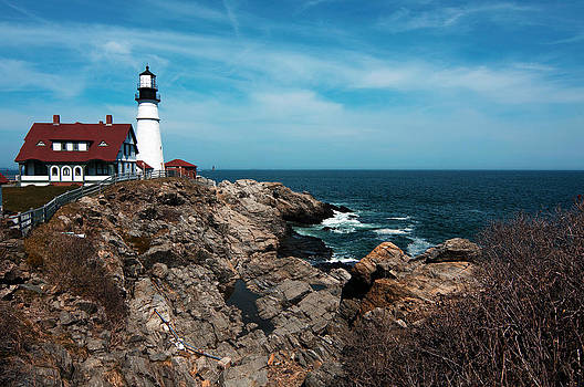 Portland Head Light House by Kimberly Long