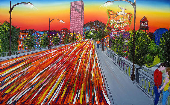 Portland Love by Portland Art Creations