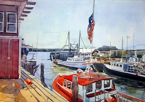 Portland Maine Harbor by Spencer Meagher