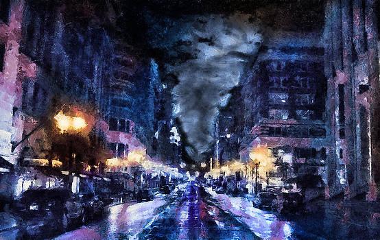 Portland Wet by Cary Shapiro
