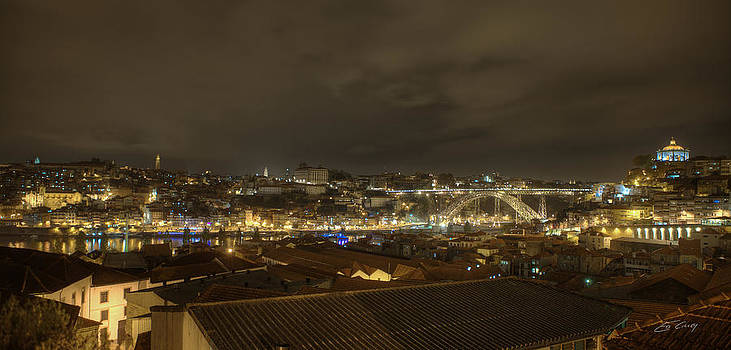 Porto Portugal from Taylor Winery by Ed Cilley