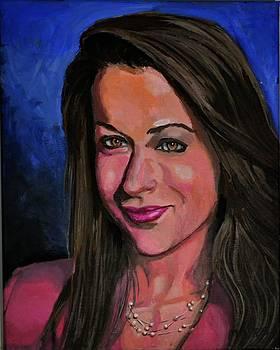 Portrain of Jenny by P Dwain Morris