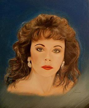 Anne-Elizabeth Whiteway - Portrait by Miguel Rodriguez