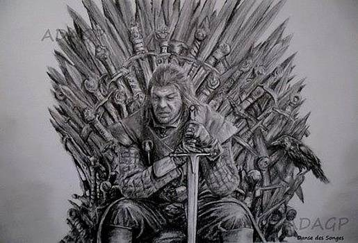Portrait d'Eddard Stark Game of thrones by Danse DesSonges