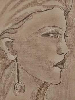 Portrait by Farfallina Art -Gabriela Dinca-