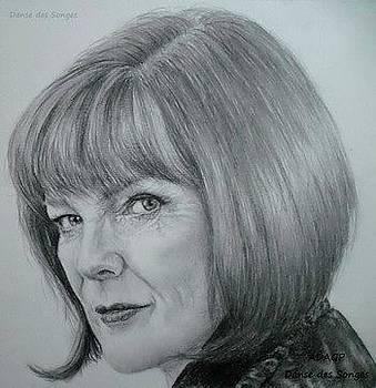 Portrait Nina Sharp Fringe by Danse DesSonges