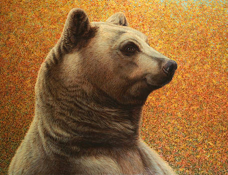 James W Johnson - Portrait of a Bear