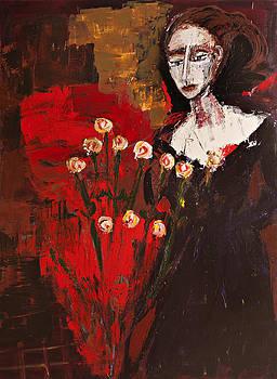 Portrait of a Lady by Maggis Art