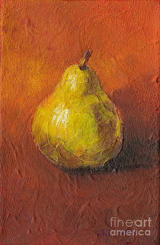 Portrait of a Pear by Sandy Linden