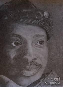 Portrait Of An Artist... Timothy Orikri by Lorelle Gromus