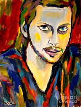 Portrait of Andre by Helena Wierzbicki