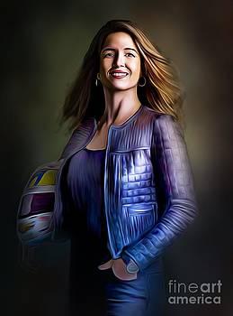 Portrait of Bia  by Dwain Morris