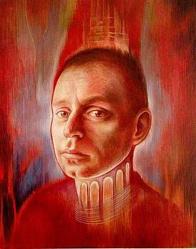 Portrait of Chris Stangle by Fatima Azimova