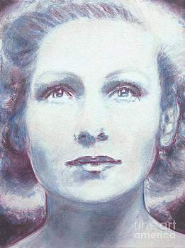 Portrait of Elizabeth Schwarzkopf by Isabelle Ehly