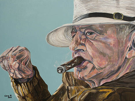 Portrait of Geo by Christel  Roelandt