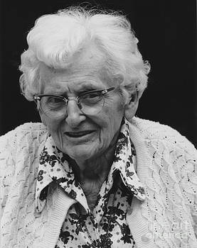 Portrait Of Grandma At Age 90 by ImagesAsArt Photos And Graphics