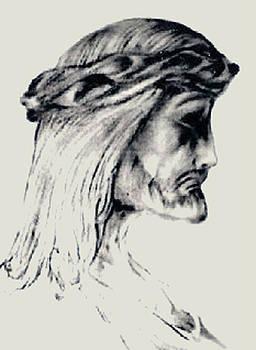 Portrait of Jesus by Derrick Rathgeber