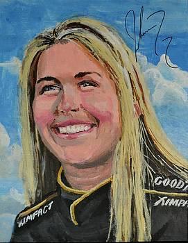 Portrait of Johanna  by P D Morris