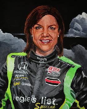 Portrait of Katherine by P D Morris