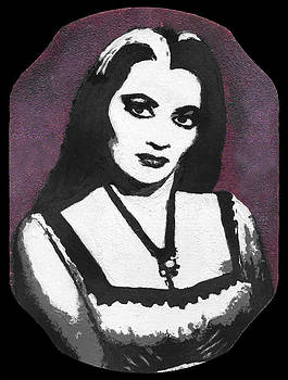 Portrait of Lily Munster by Jezebel X