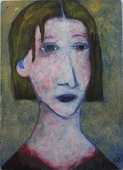 Portrait of Mary by Cindy Riccardelli