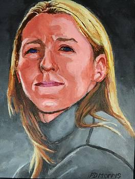 Portrait of Pippa by P D Morris