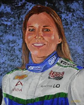 Portrait of Simona by P D Morris