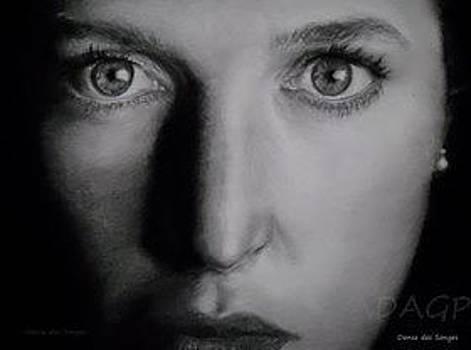 Portrait Scully X_Files by Danse DesSonges