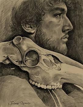 Portrait study by Fatima Azimova