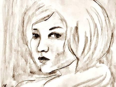 Portrait2 by Farfallina Art -Gabriela Dinca-