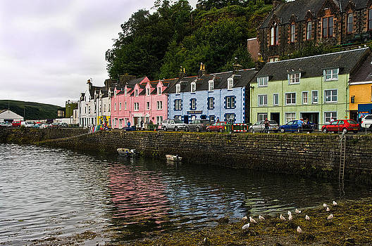 Portree Isle of Skye Scotland by Jacqi Elmslie