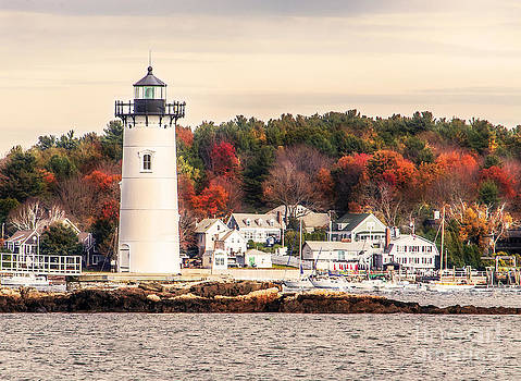 Portsmouth Harbor Lighthouse by Deena Athans