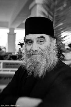 Isaac Silman - Posing priest