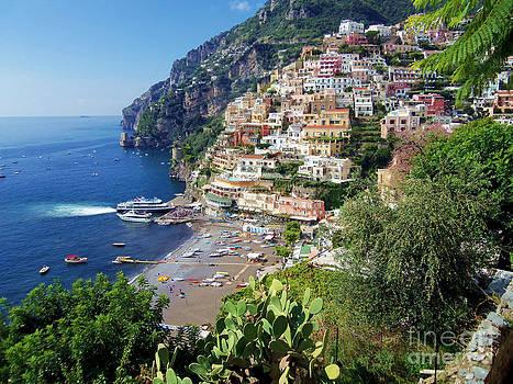 Positano Italy by Nancy Bradley