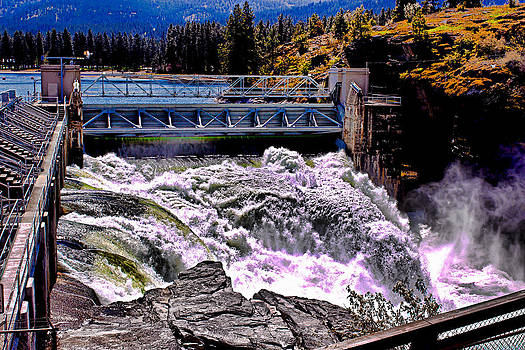 Post Falls Dam by Rusty Jeffries