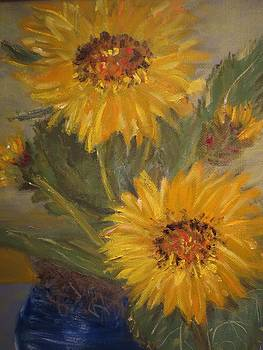 Pot of Gold Detail by Cindy Lawson-Kester