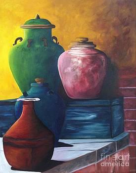 Pots by Vikki Angel