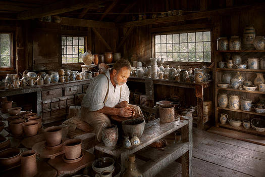 Mike Savad - Potter - Raised in the clay