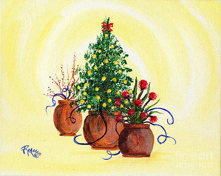 Pottery Christmas by Rita Miller