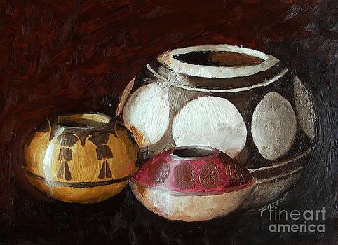 Pottery Still Life by Steve Patton