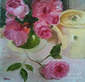 Pouring Roses on Mother's Day by Sherrill McCall
