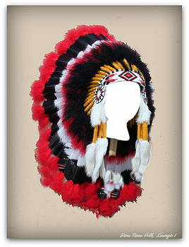 Pow-Wow Headdress by Donald Hill