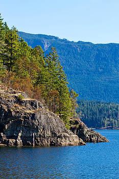 Powell Lake by Danielle Silveira