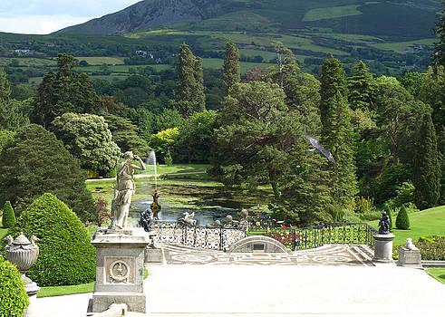 Powerscourt Gardens in Ireland by Carolyn Burns Bass