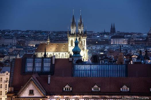 Isaac Silman - Prague at dusk