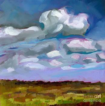 Prairie Clouds by Eve  Wheeler